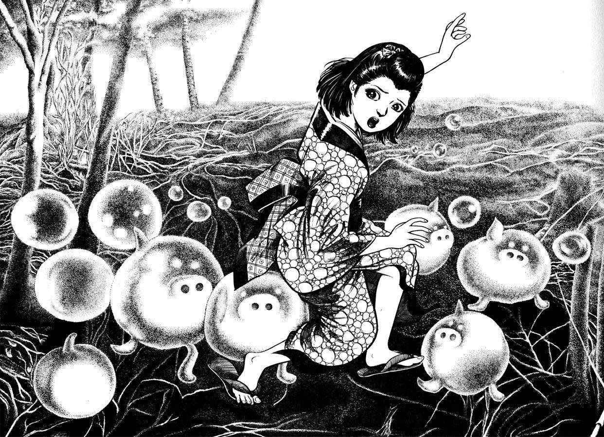 "Katakirauwa / 片耳豚 / One Ear Pig from ""Yokai Jiten"" by ... Katakirauwa"