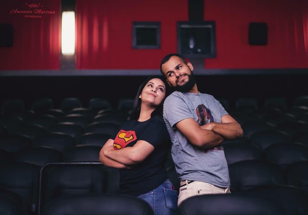 Pre Wedding Cinema Fotos Amanda Martins Boituva Cinema Pre Casamento Fotos
