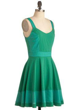 9033e1fe1ee4 Sorbetto Believe It Dress in Green Retro Vintage Dresses, Knit Jacket,  Black Blazers,