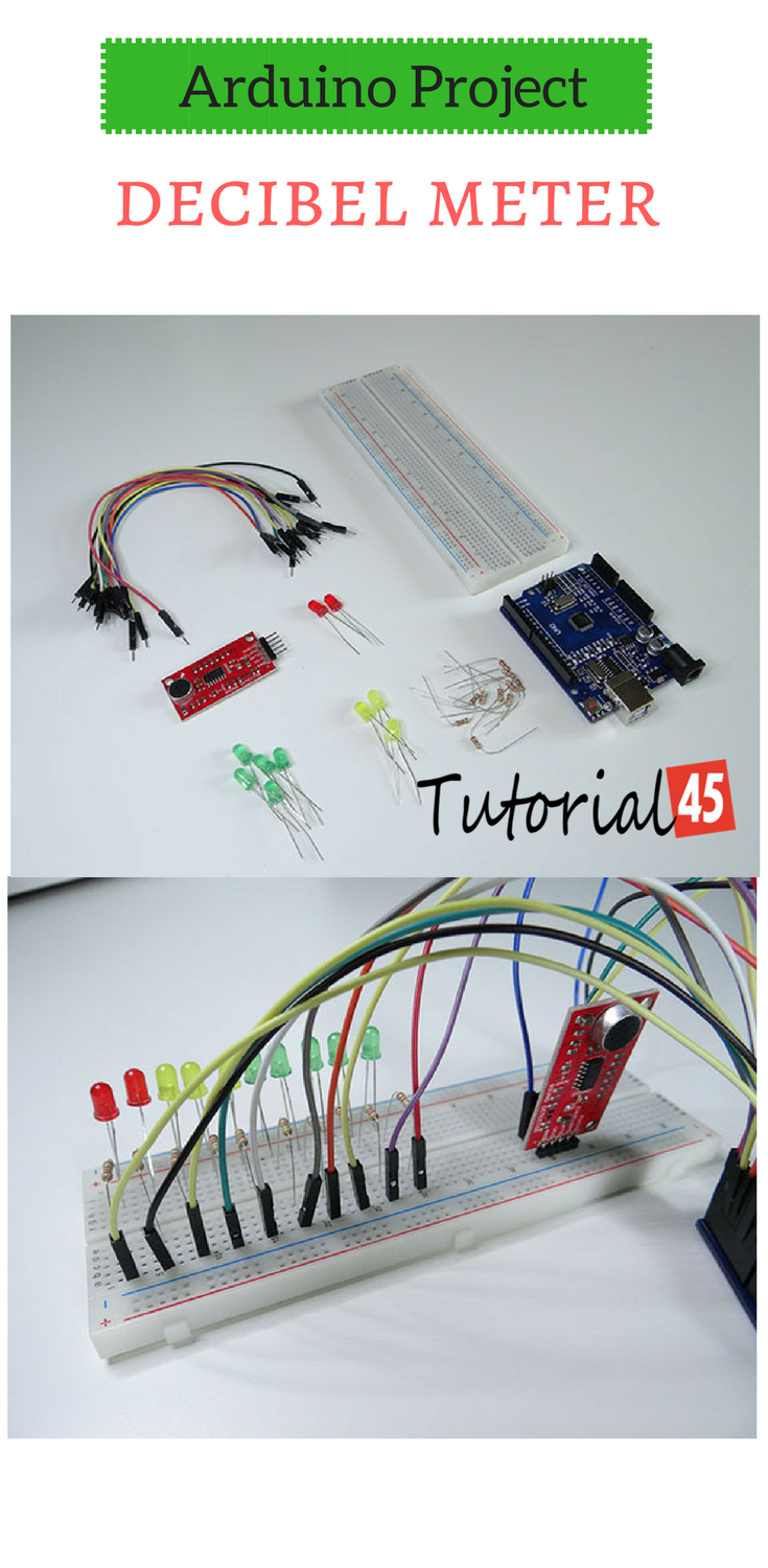 Arduino projects: Arduino decibel meter | Arduino Projects ...