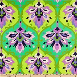 Amy Butler Home Decor Love Twill Trumpet Flowers Emerald Home