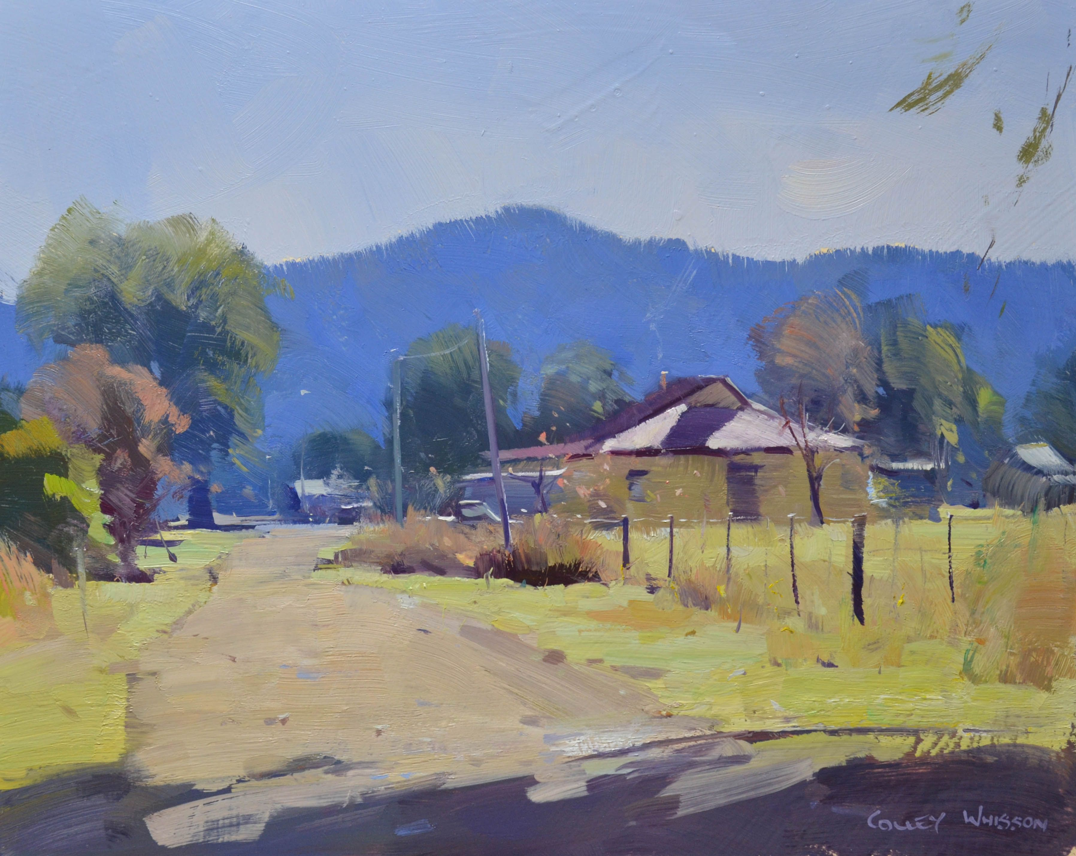 Colley Whisson Taao Landscape Painting Tutorial Oil Painting Landscape Australian Painting