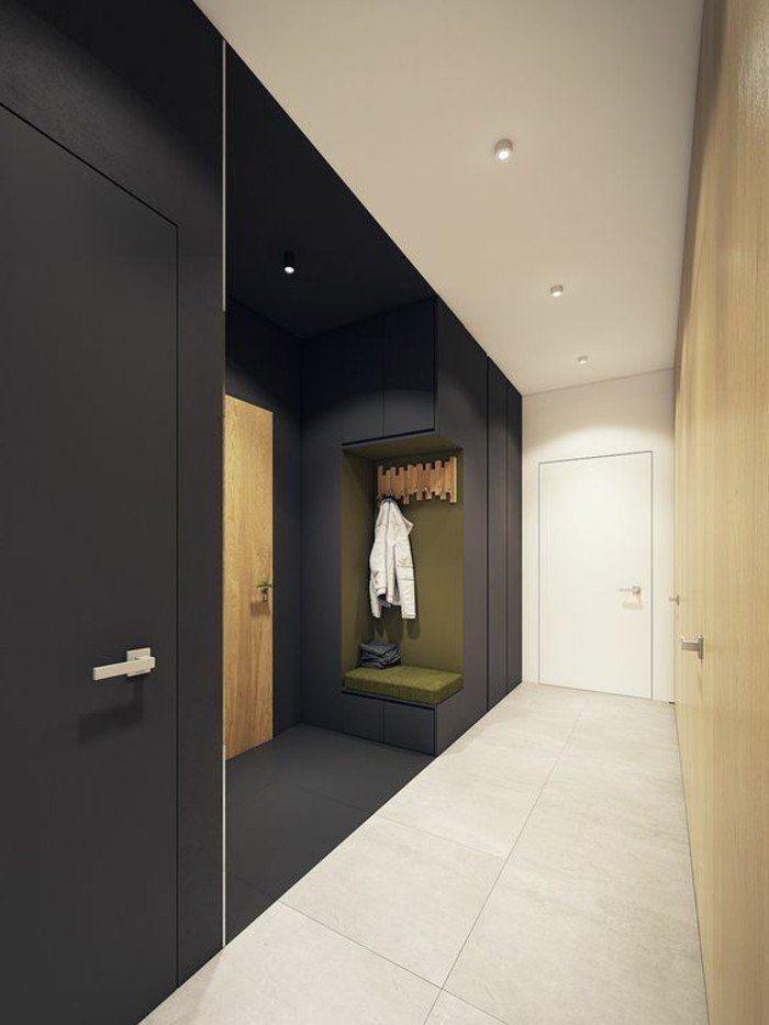 Décorer un couloir - plus de 70 idées en photos pour vous - idee couleur couloir entree