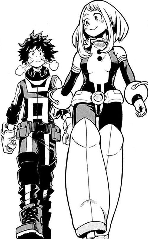 Boku No Hero Academy Ochako Deku Xd Hero My Hero