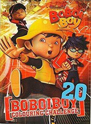Boboiboy Colouring Challange 20 Book