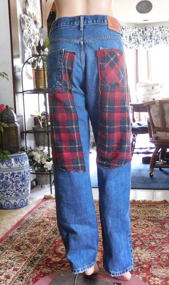 Flannel Jeans Mens Red Landofbridget Plaid By Levis Boyfriend X6XORwAxpq