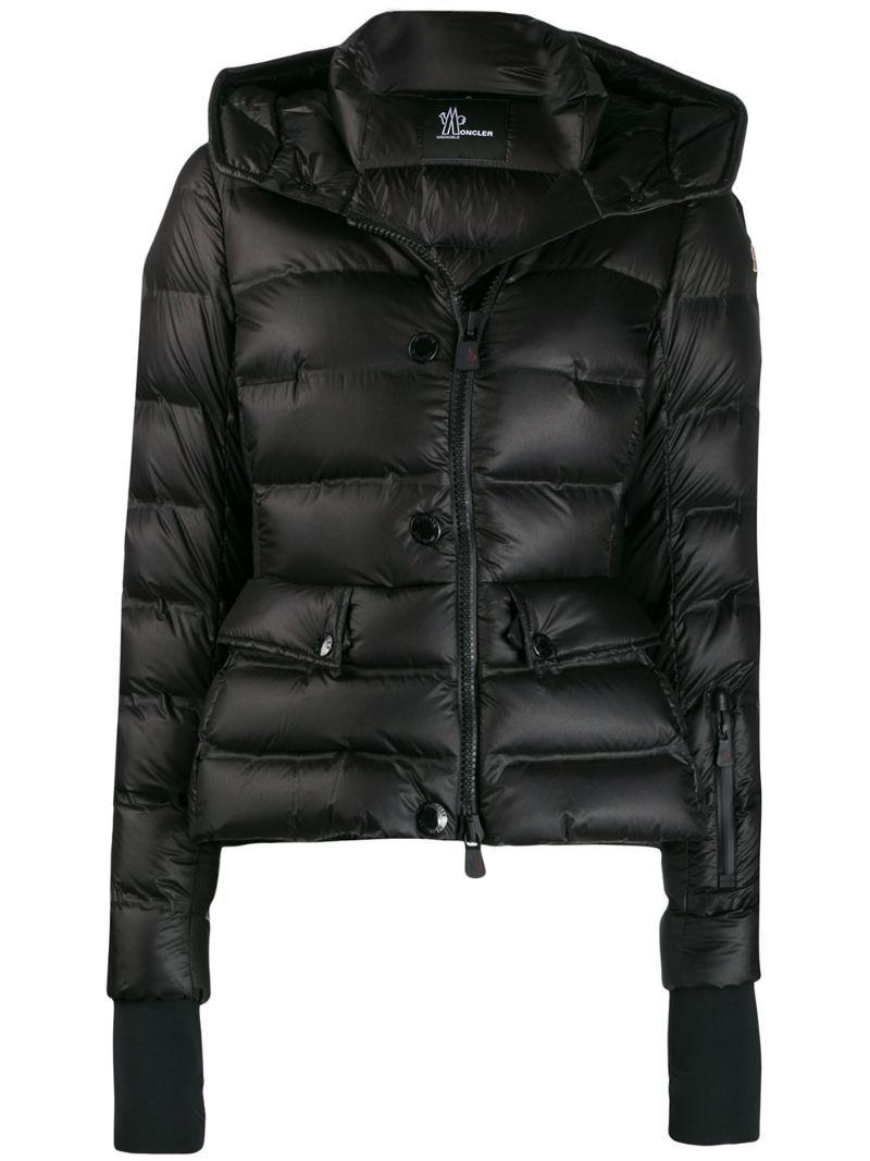 Moncler Grenoble Slim Fit Puffer Jacket Black In 2020 Black Puffer Jacket Jackets Puffer Jackets [ 1067 x 800 Pixel ]