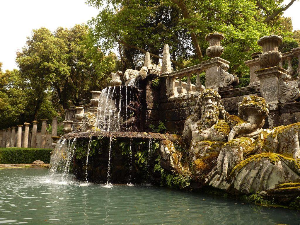 Italia. Villa Lante.Fontana dei Giganti.27
