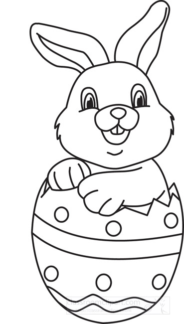 20+ Bunny Clipart Black And White