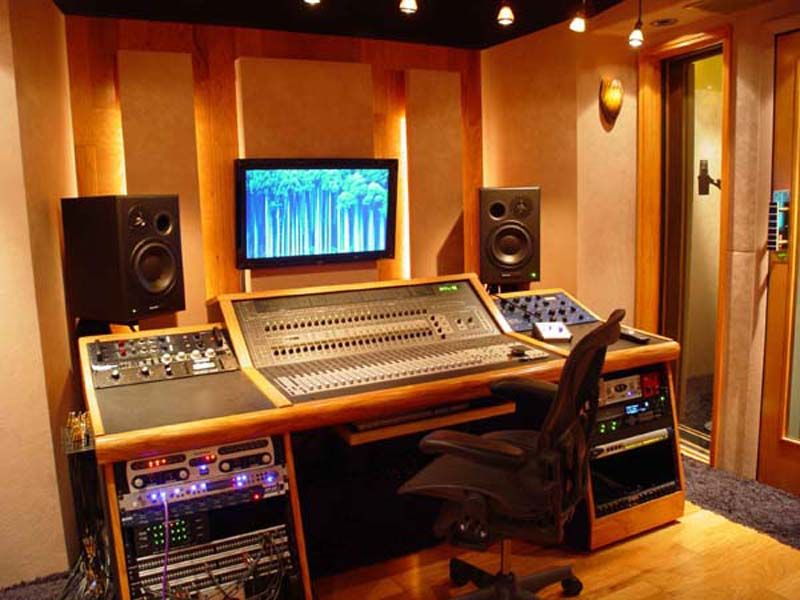 Exceptional Picturesque Design Home Recording Studio Plans On Ideas
