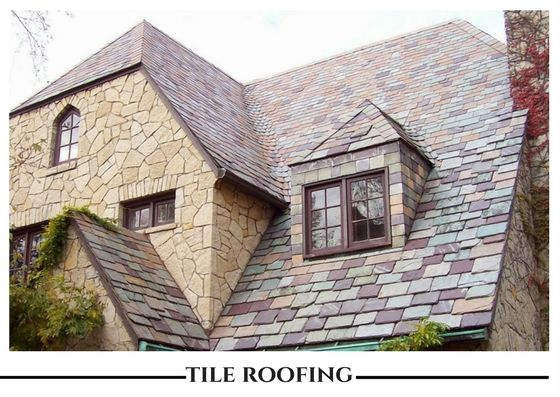 Tiles Roof Should Be Beautiful Durable And Environmental Friendly Slate Roof Cost Slate Roof Roof Cost