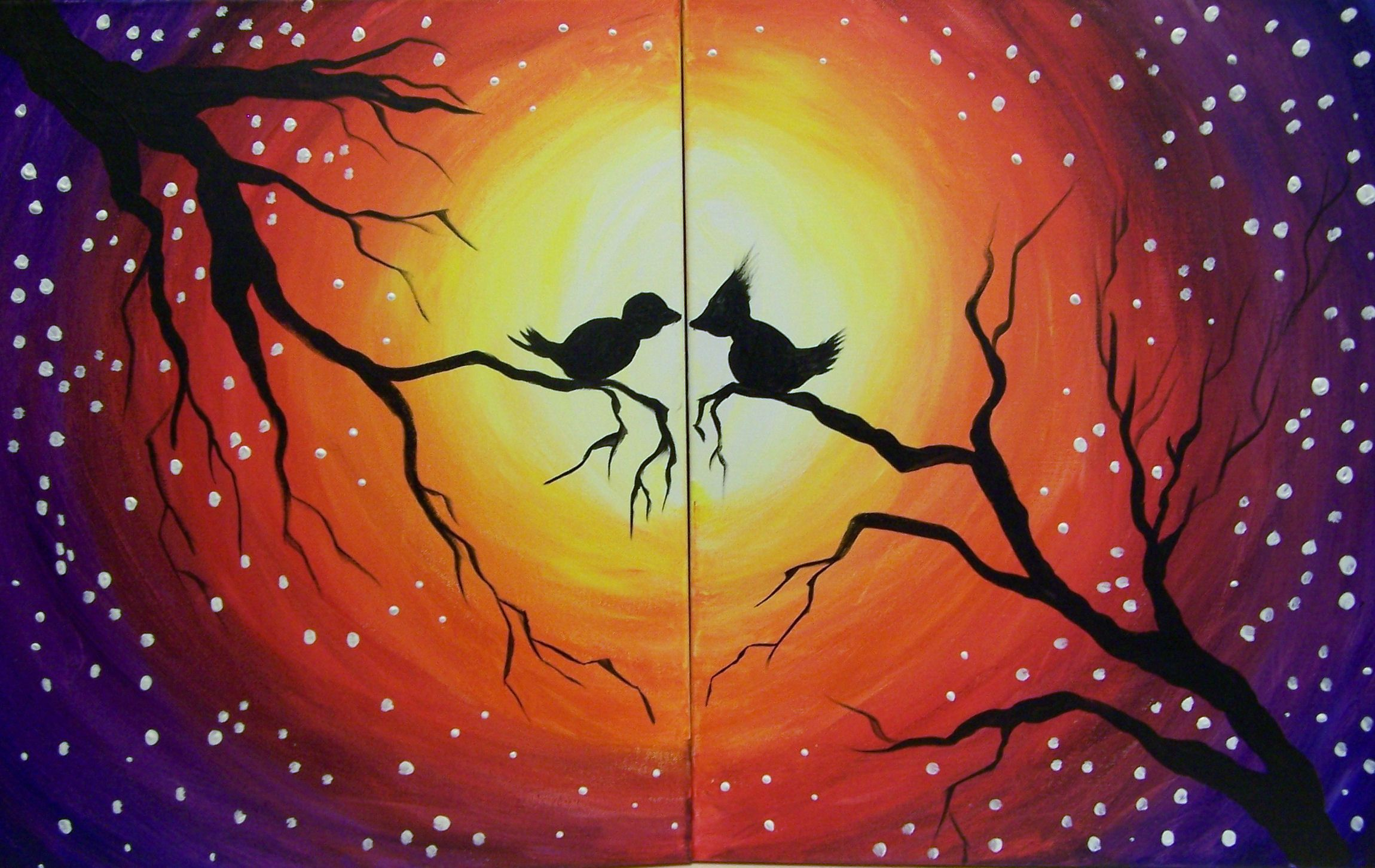 Couples Class Lover S Night At Whimsy Art Studio Www Whimsyartstudio Com Night Painting Couples Canvas Painting Whimsy Art