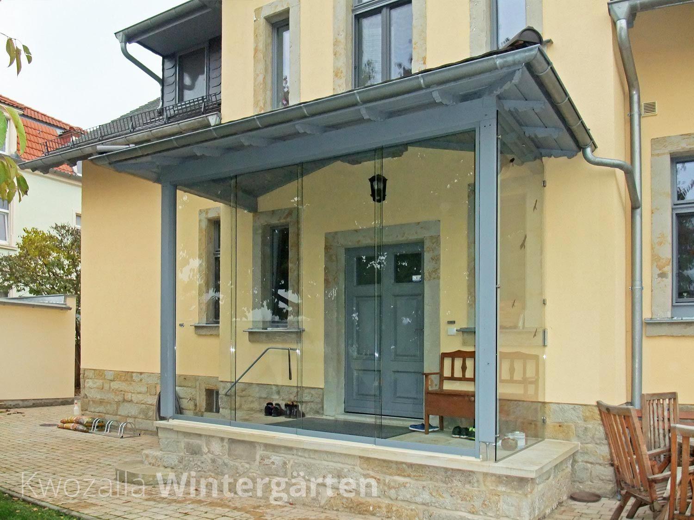 verglasung von einem hauseingang wind und wetterschutz aus sicherheitsglas verglasung von. Black Bedroom Furniture Sets. Home Design Ideas