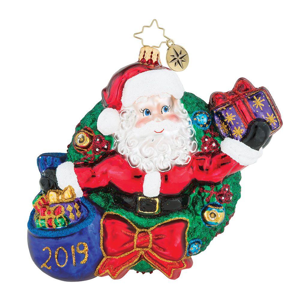 3013443 Radko Dated Ornament No Time Like The Present 2019 Christopher Radko Ornaments Radko Ornaments Christopher Radko