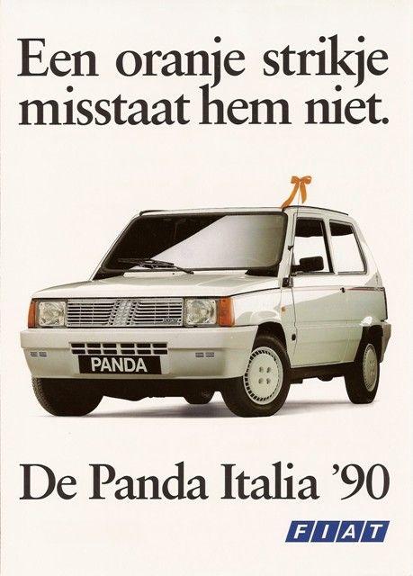 Panda Mk 1 Fiat Mijn Brochures F Autobrochures A O Jouwweb Nl Fiat Fiat Panda Panda