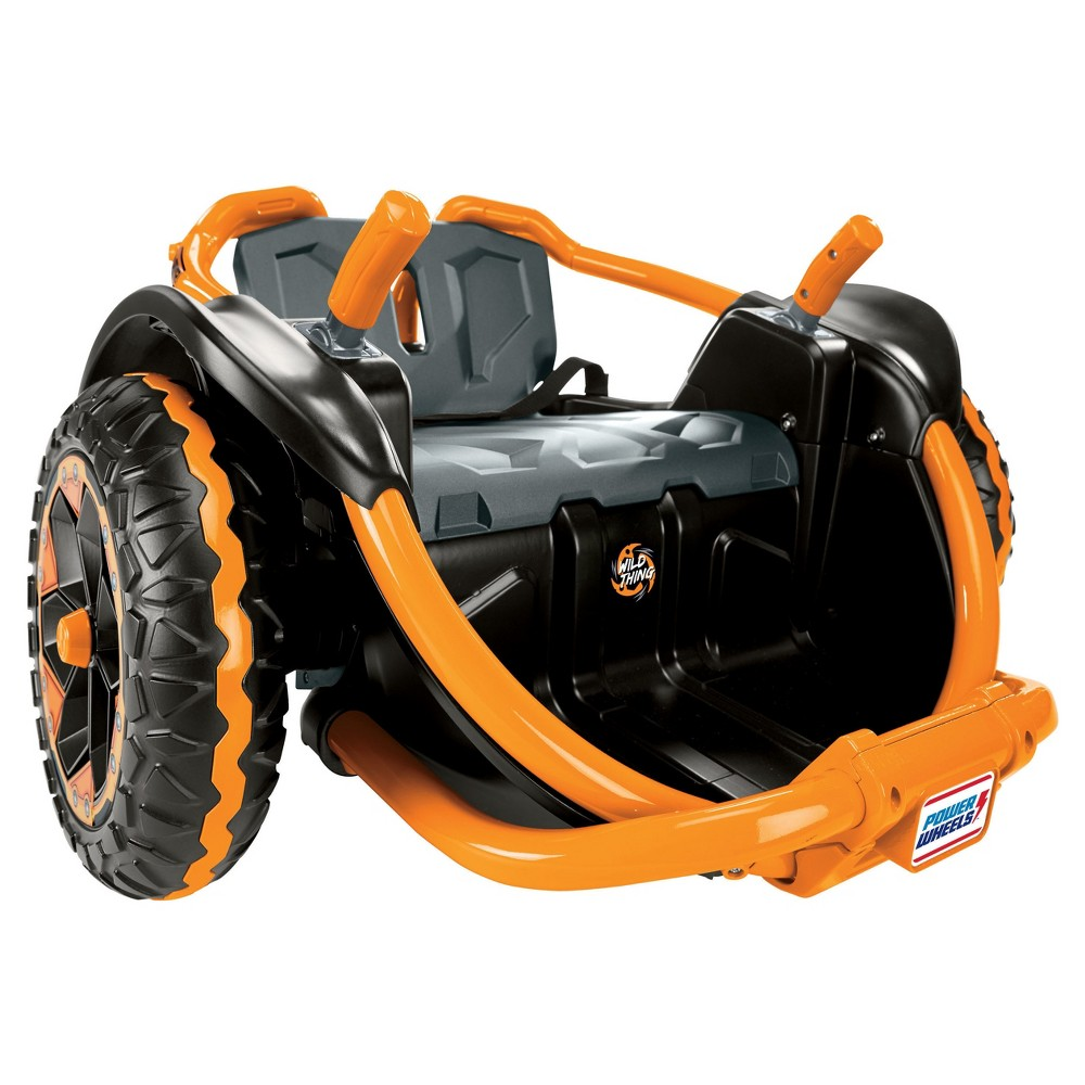 Fisherprice power wheels wild thing orange power