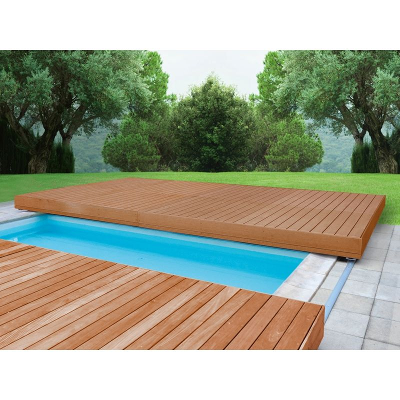 Beeindruckend Schwimmbäder Für Den Garten Schwimmbad01: Mobile Sicherheitsterrasse 2,00 X 4,00 M