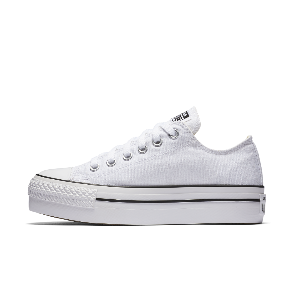 dd1be33a46a3 Converse Chuck Taylor All Star Platform Low Top Women s Shoe Size 10 (White)