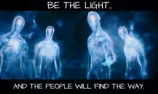 Be the light! Om your troubles away. Love life, smile and be happy