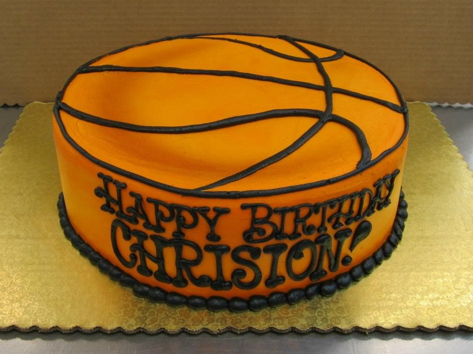 Perfect For A Basketball Fanatic All Buttercream Cake By Stephanie Dillon Ls1 Hy Vee Cakes By Stephanie Wedding Cake Recipe Basketball Cake