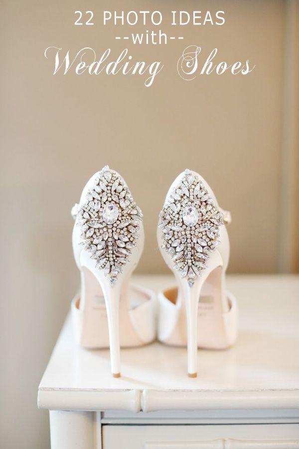 Gorgeous Vintage Bling Ivory Wedding Shoes