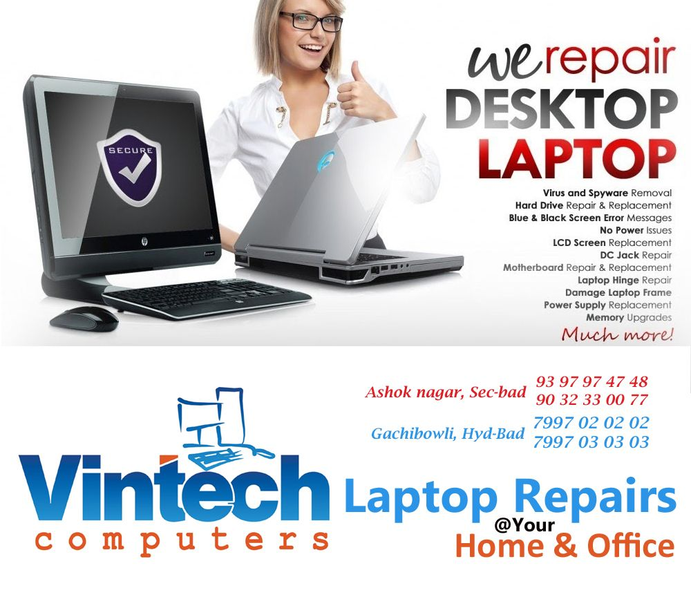 Best Laptop Repair in Hyderabad|Dell,hp,Lenovo,Asus,Acer|Laptop ...