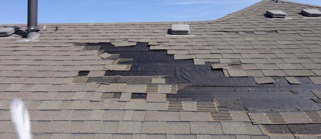 Storm Damage In 2020 Roof Repair Wind Damage Roofer