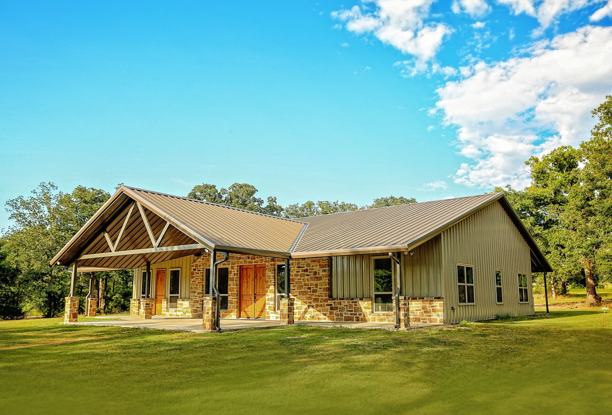 Wright House Barn Style House Metal House Plans Metal Building Homes