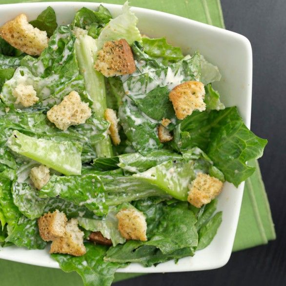 Salad Dressing Recipes: Skinny Caesar Salad Dressing ...