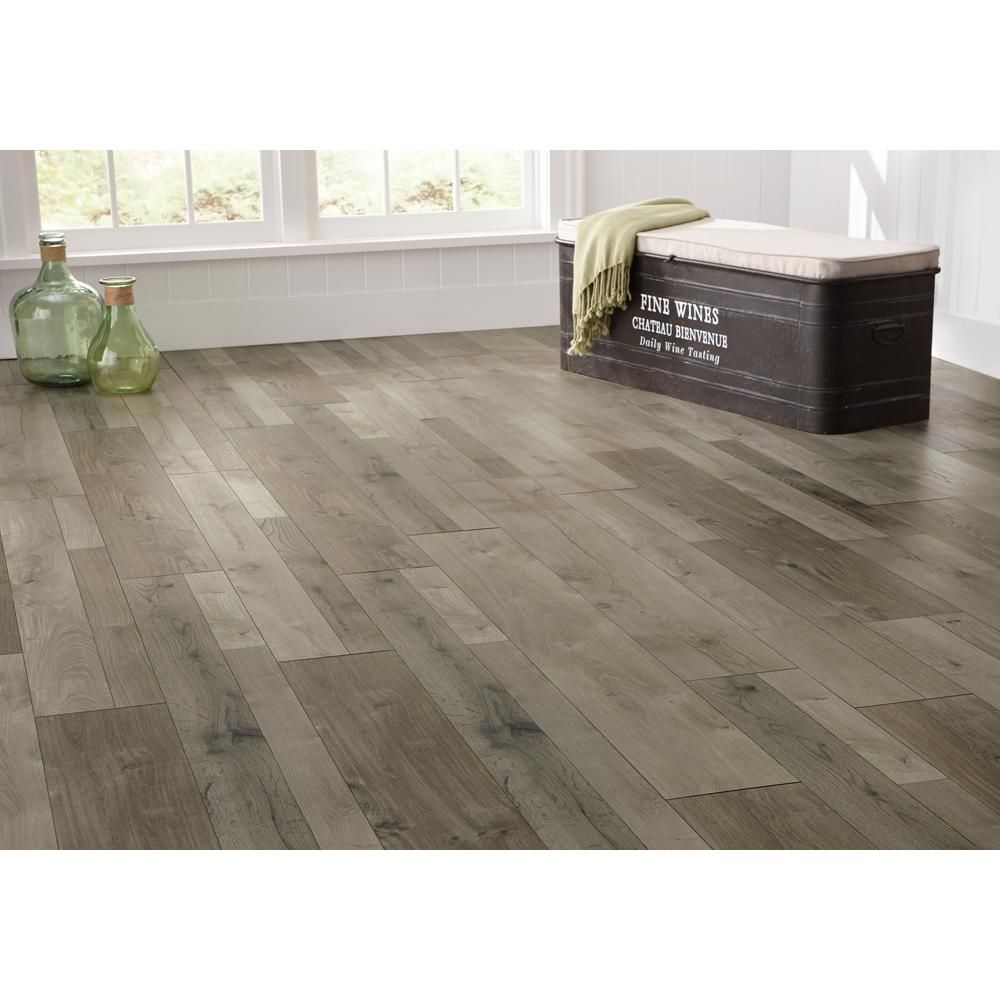 Home Decorators Collection HDC Palmina Aged Oak 12 Mm Thick X 7.60 In. Wide  X