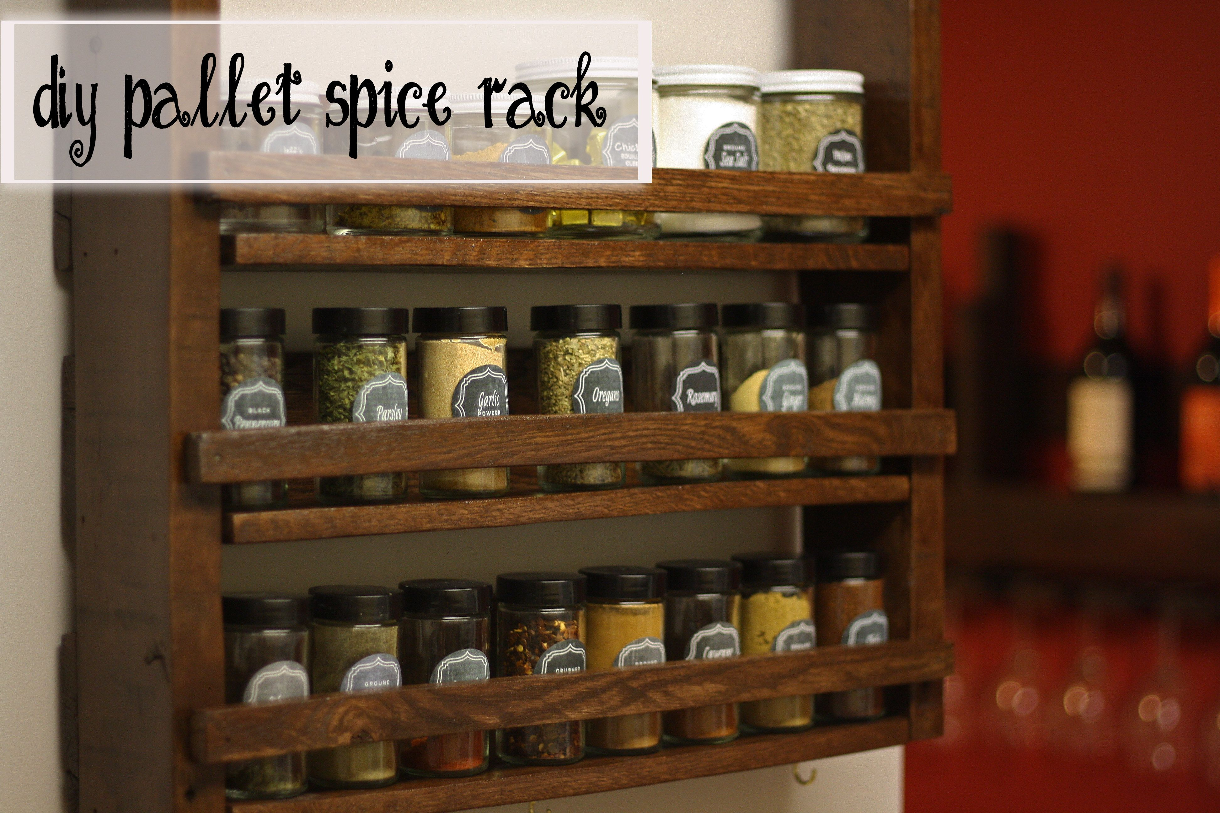 Sensational Wood Pallet Spice Racks Spice Rack Out Of The Extra Download Free Architecture Designs Photstoregrimeyleaguecom