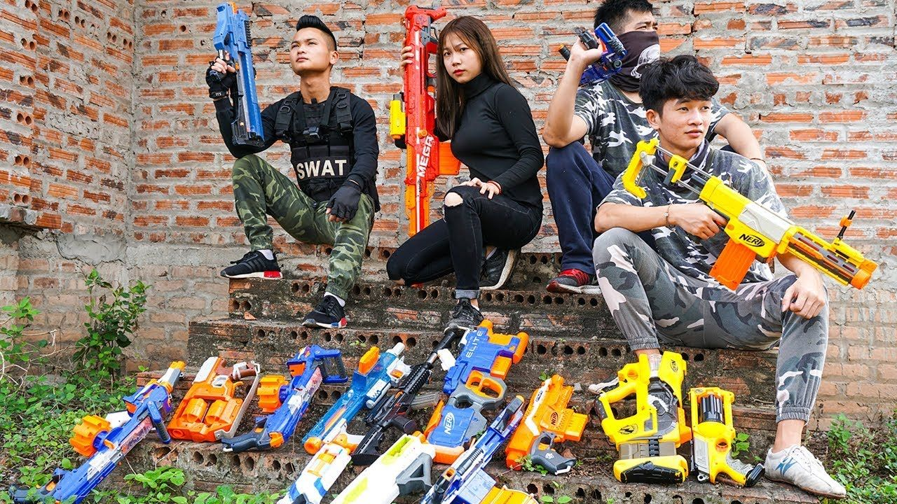Pin on Hihahe Nerf Guns Film
