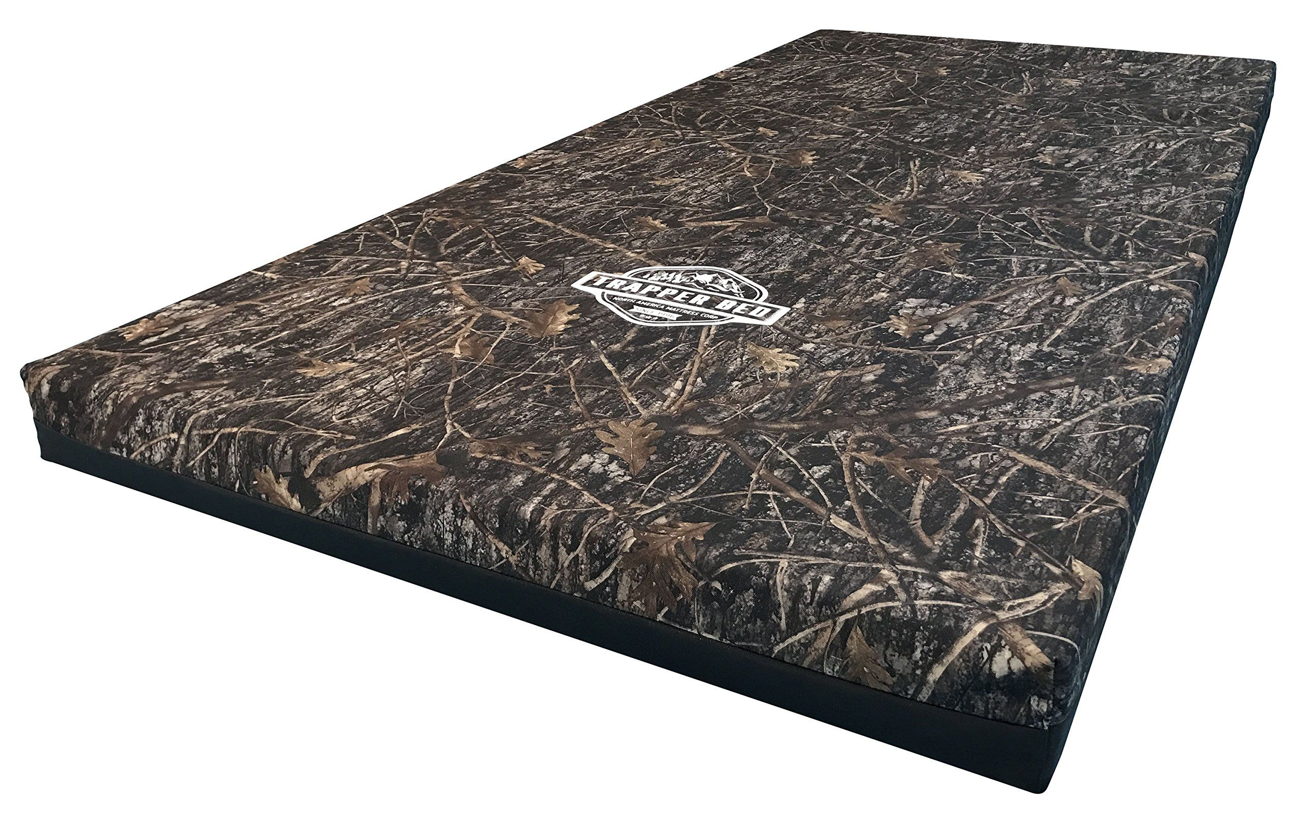 trapper bed 4 luxury hunter camping sleep pad with cool gel memory