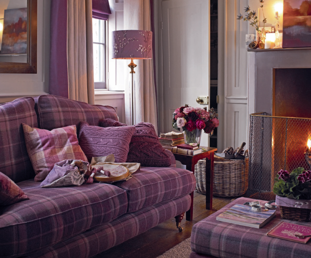 Laura Ashley Cozy Colours And Textures Purple Pinterest - Laura ashley living room purple