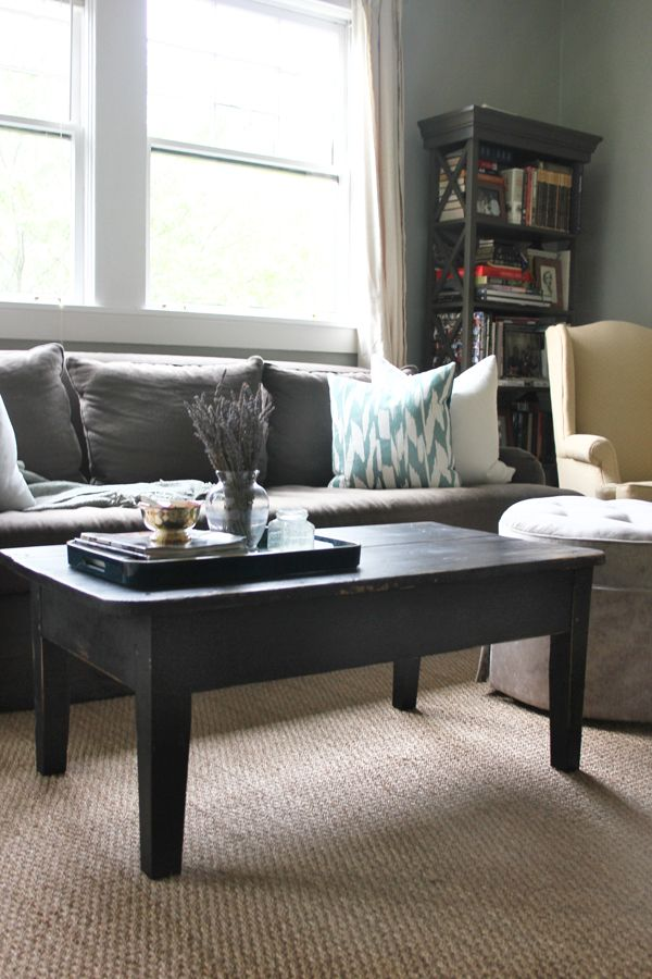 Turning An Old Desk Into A Coffee Table Coffee Table Upcycled Home Decor Old Desks