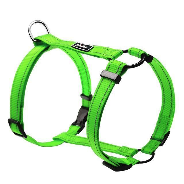 Reflective Adjustable H Type Dog Harness I Want Dog Harness