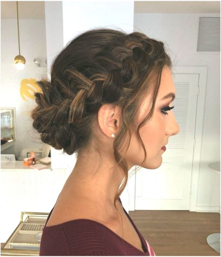 this gorgeous braided updo is perfect for prom + formal (With images) | Elegant hairstyles -   12 homecoming hairstyles Updo ideas