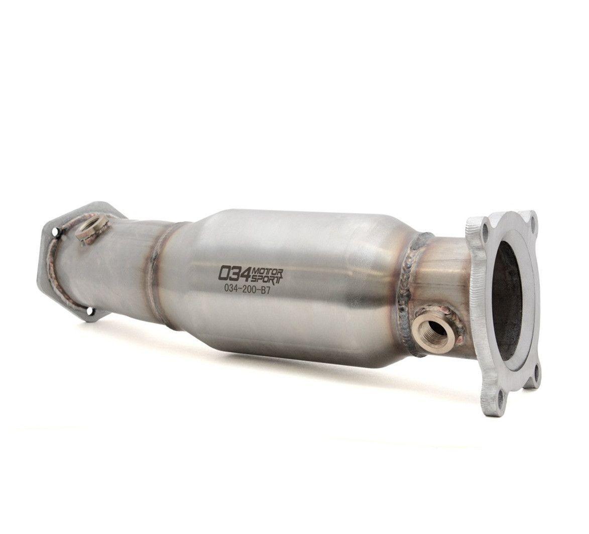 034Motorsport High Flow Racing Catalytic Converter, B7