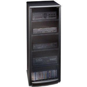 Amazon.com: TechCraft SF50 50-Inch High Audio Rack - Black ...