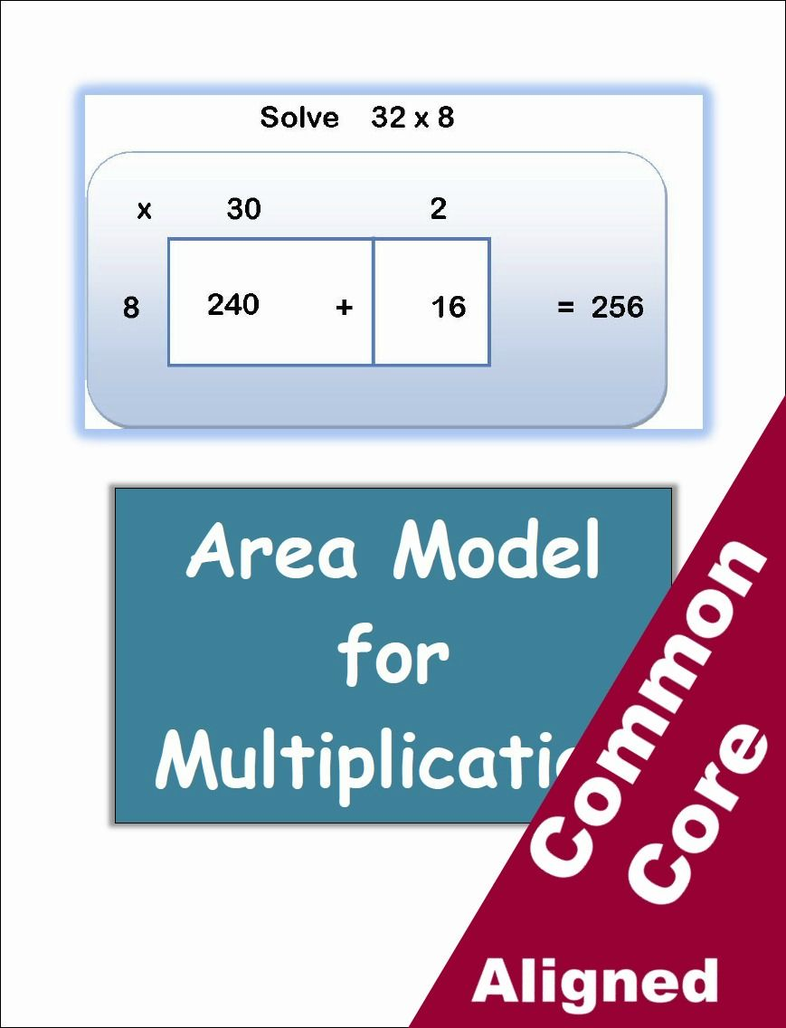 small resolution of Area Model Multiplication Worksheets - Classroom Caboodle   Area model  multiplication