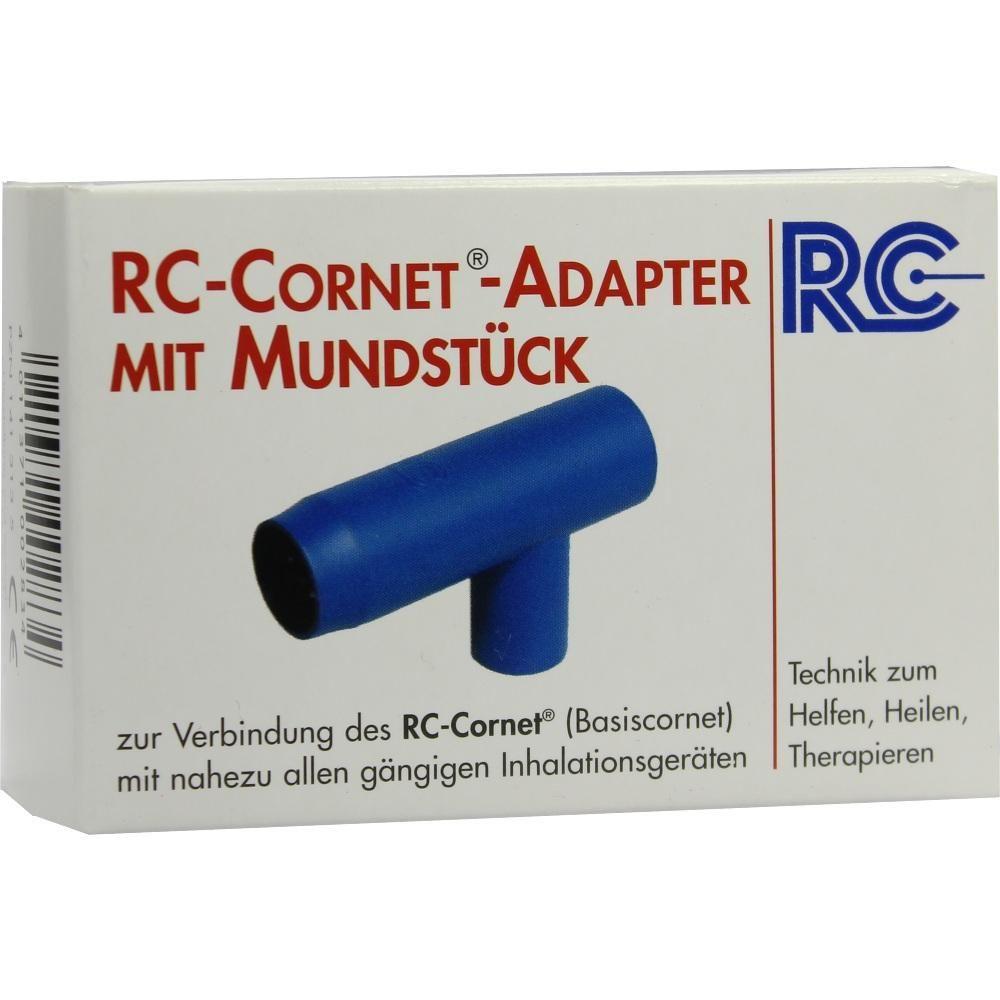 RC Cornet Adapter mit Mundstück f.Inhaliergeräte:   Packungsinhalt: 1 St PZN: 01413135 Hersteller: R.Cegla GmbH & Co. KG Preis: 11,31 EUR…