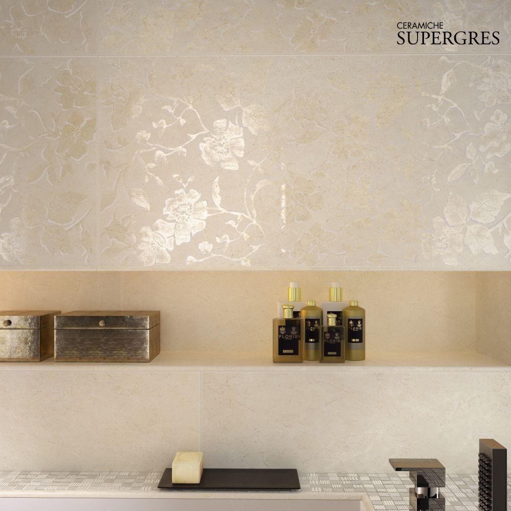 Rivestimenti bagni re si de di ceramiche supergres for Rivestimenti bagni contemporanei
