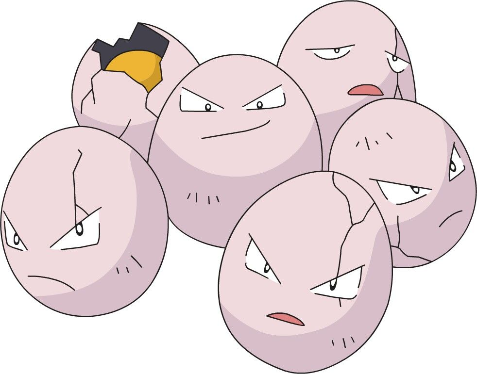 Image result for Exeggcute pinterest