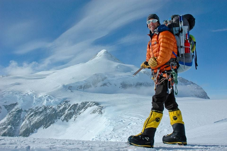 Peter Whittaker, coowner of RMI Expeditions and renowned