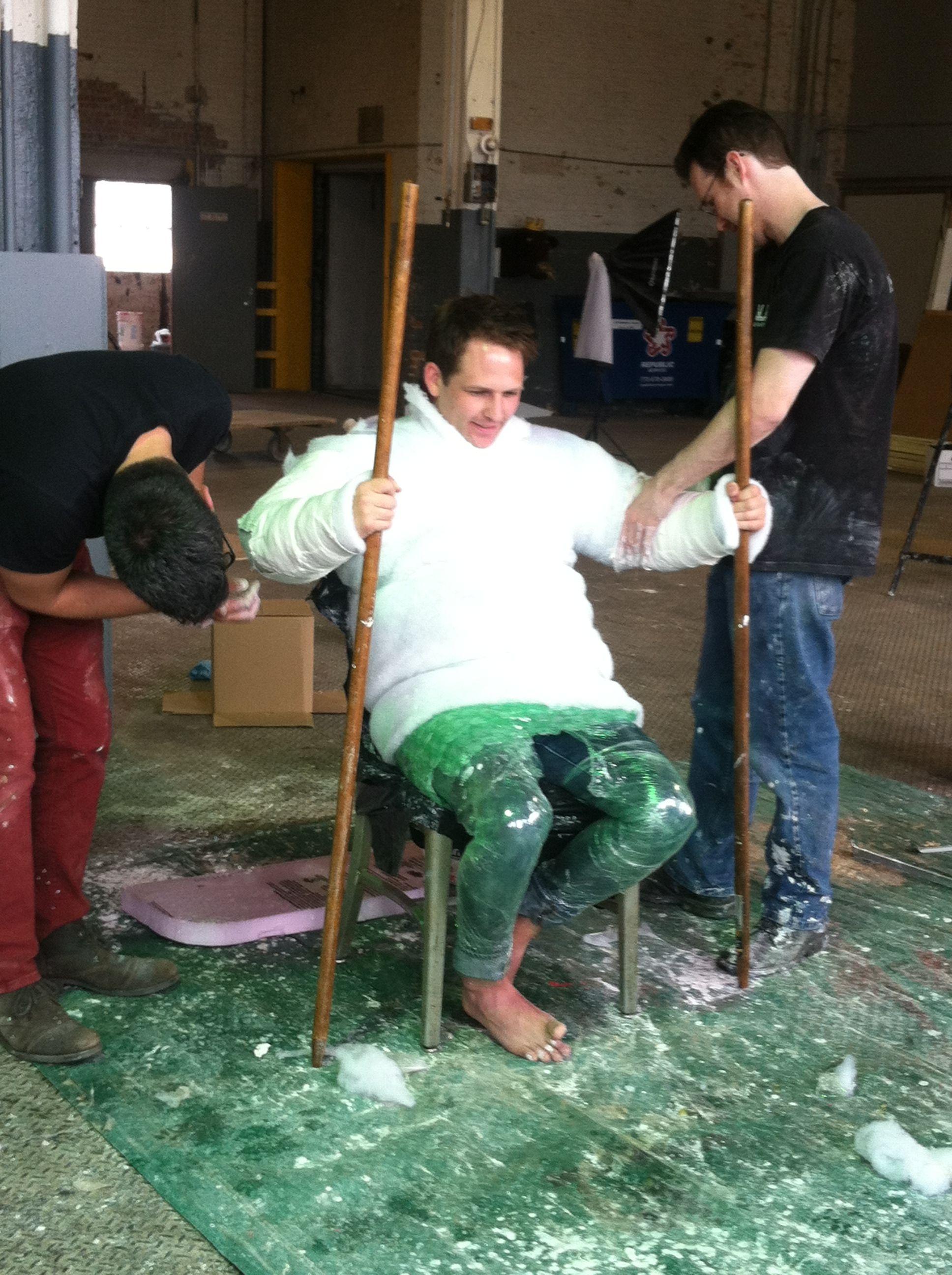 Making a full body cast - Illumivation Studios