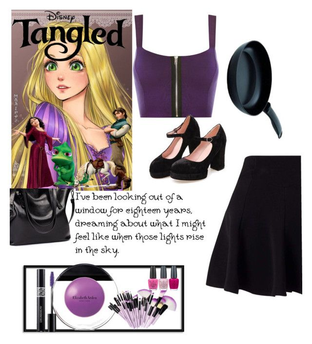 """""""I've been looking out a window!"""" by oneatwphogeebaby ❤ liked on Polyvore featuring Disney, WearAll, Miss Selfridge, Christian Dior, Elizabeth Arden, OPI, Kuhn Rikon and befree"""