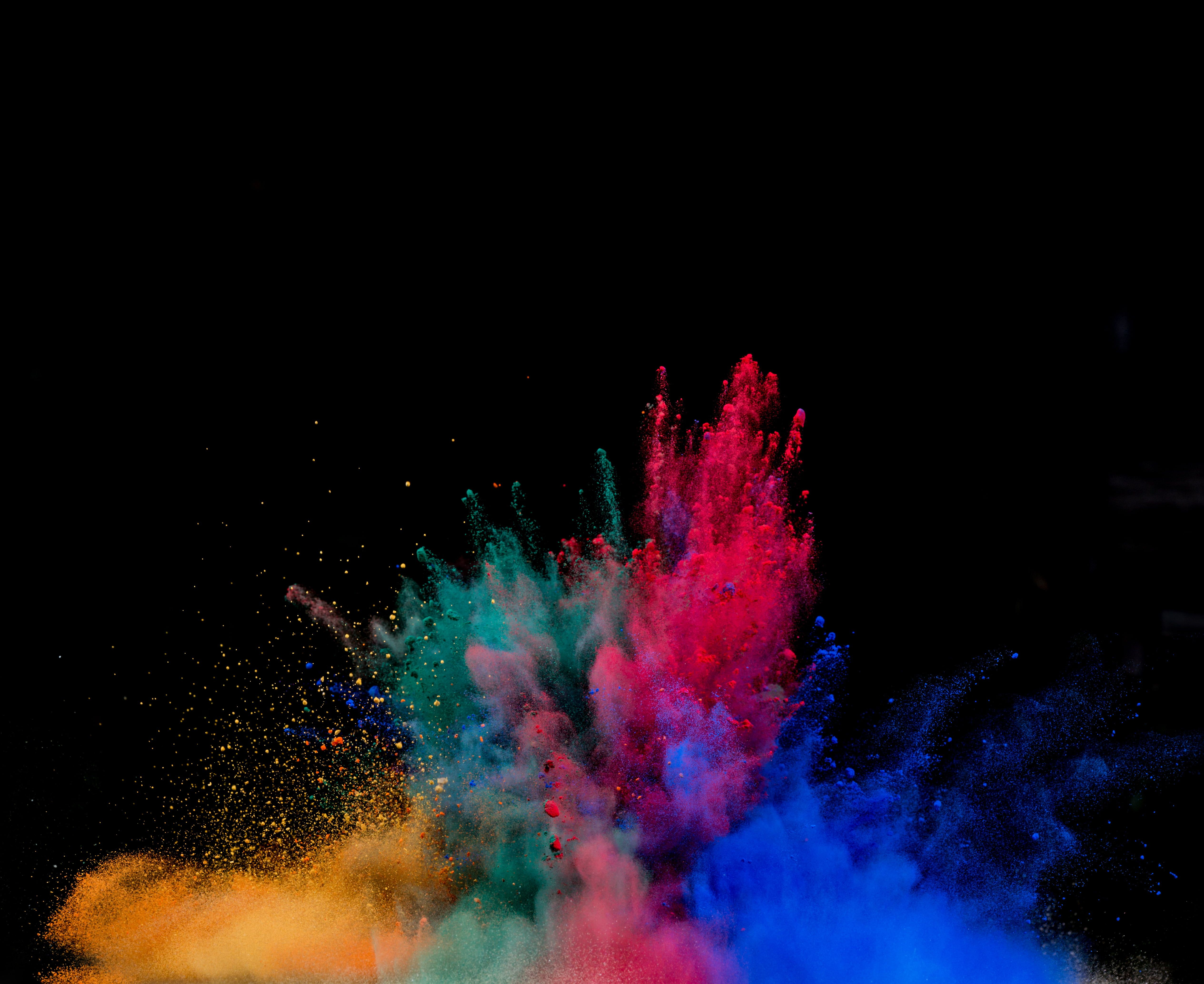 Multicolored Holi Powders Powder Explosion Powder Colorful 4k Wallpaper Hdwallpaper Desktop Motion Wallpapers Art Wallpaper Colorful Wallpaper
