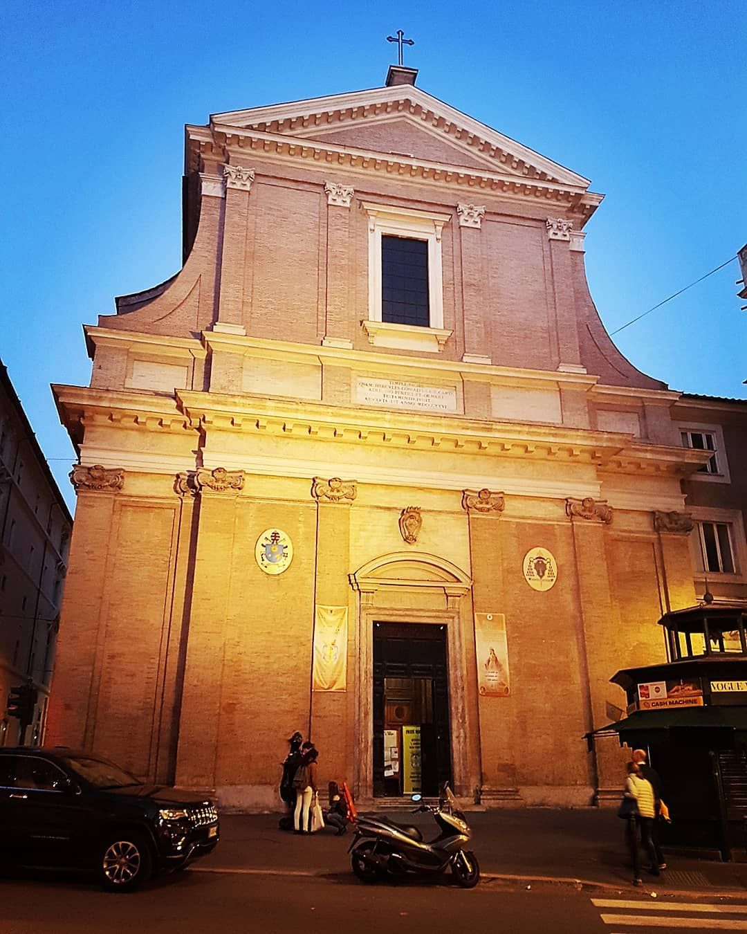 Sant Andrea Delle Fratte Francesco Borromini Second Half Of Xvii Century Roma Roma Rome Architecture Design Borromini Bell Tower Saint And Instagram