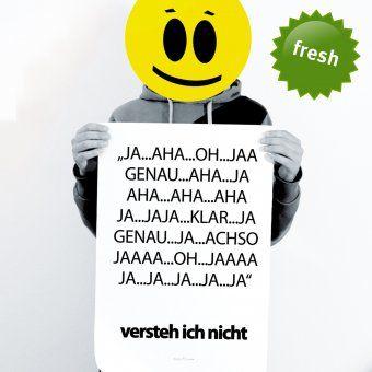Poster TypoPrint Aha