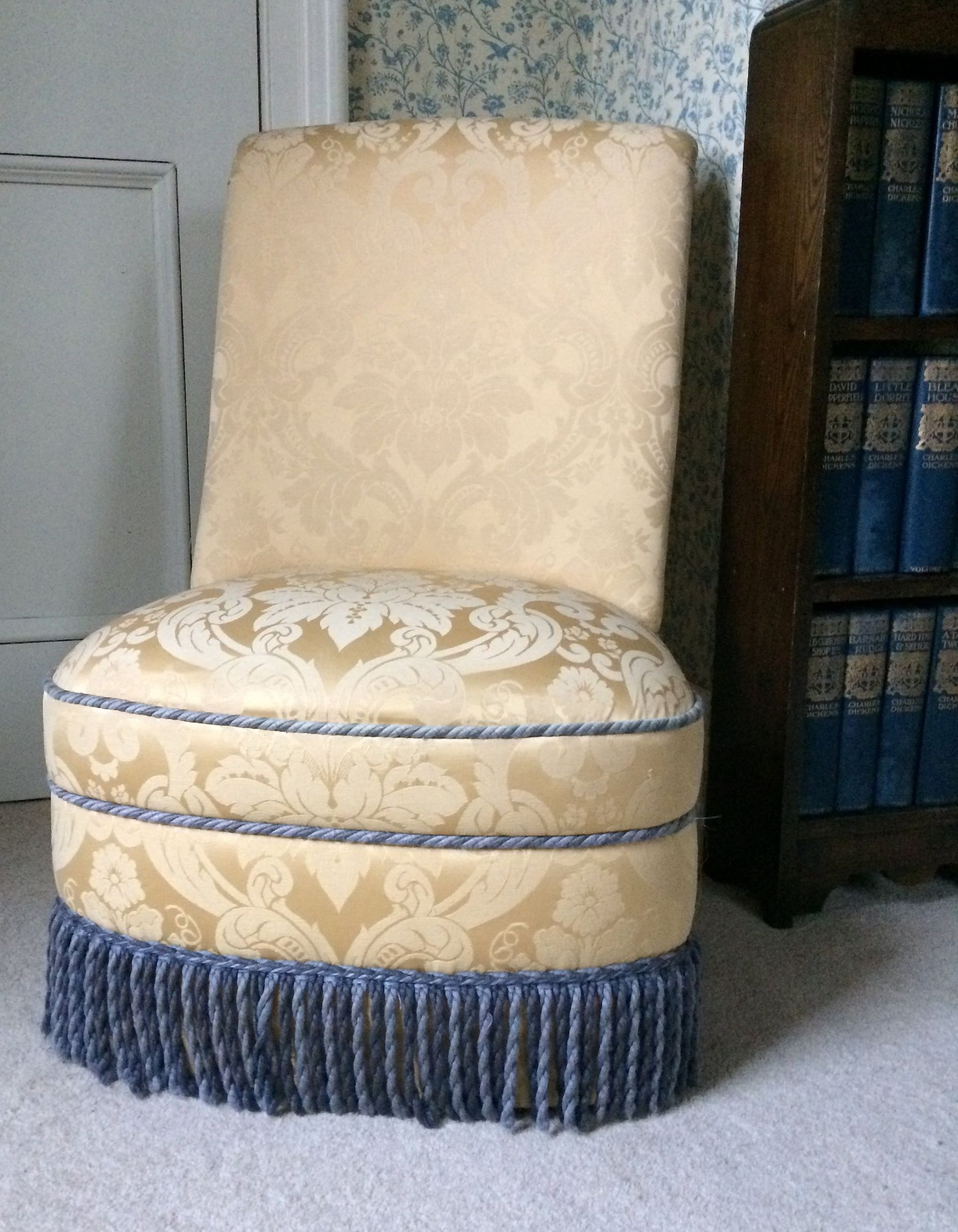Upholstered bedroom chair  Etsy  Upholstered bedroom chair